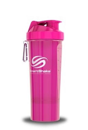 Liever Gezond Smartshake neon pink 500 ml afbeelding