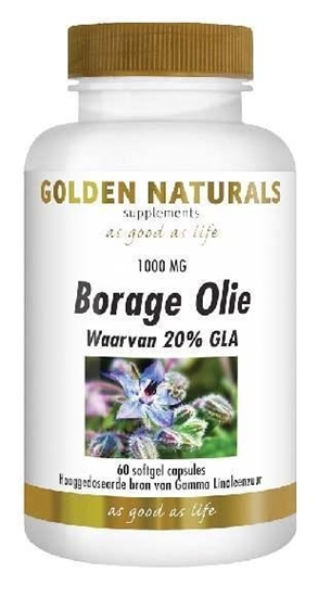 Golden Naturals Borage olie afbeelding
