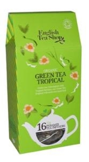 English Tea Shop Green tea tropical afbeelding
