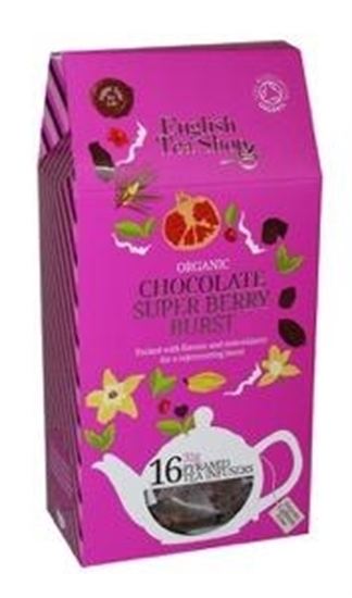 English Tea Shop Chocolate super berry burst afbeelding