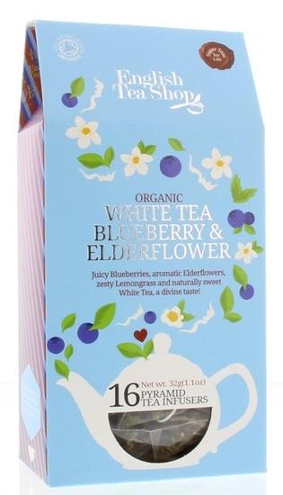 English Tea Shop White tea blue elderberry afbeelding
