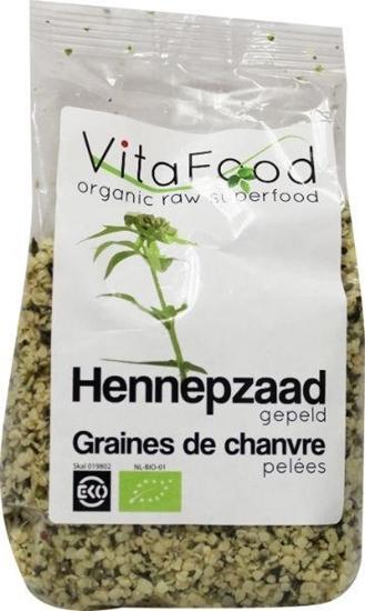Vitafood Hennepzaad gepeld afbeelding