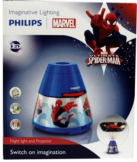 Philips Disney spiderman projector afbeelding