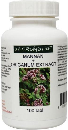 Cruydhof Mannan + origanum extract afbeelding