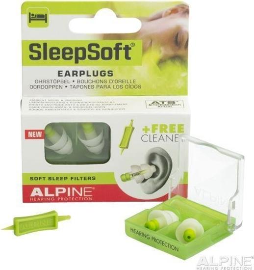 Alpine Sleepsoft oordopjes afbeelding