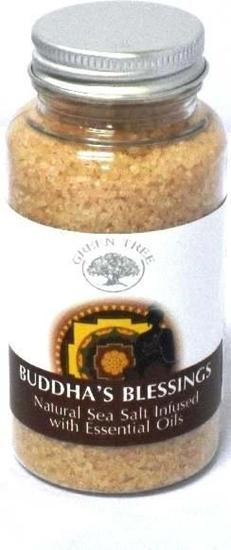 Green Tree Aromabrander zeezout Buddha's blessing afbeelding