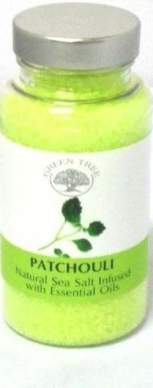 Green Tree Aromabrander zeezout patchouli afbeelding