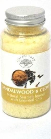 Green Tree Aromabrander zeezout sandelwood afbeelding