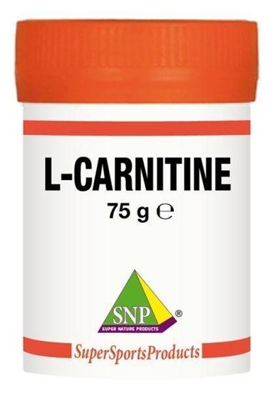 SNP L-carnitine XX puur afbeelding