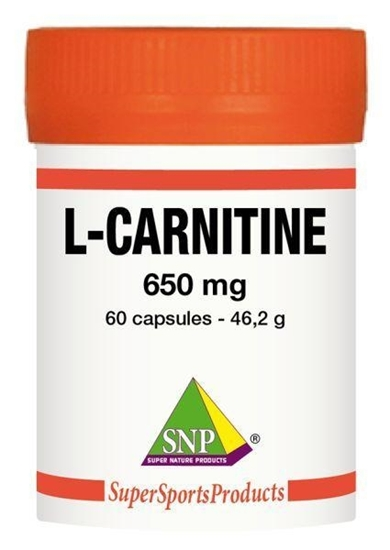 SNP L-Carnitine 650 mg puur afbeelding