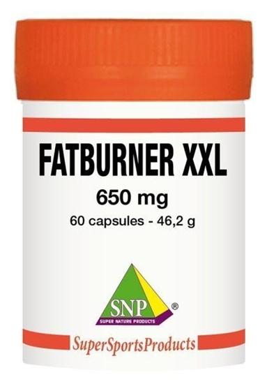 SNP Fatburner XXL 650 mg puur afbeelding