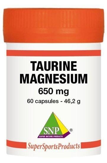SNP Taurine 325 mg Magnesium 325 mg - Puur afbeelding