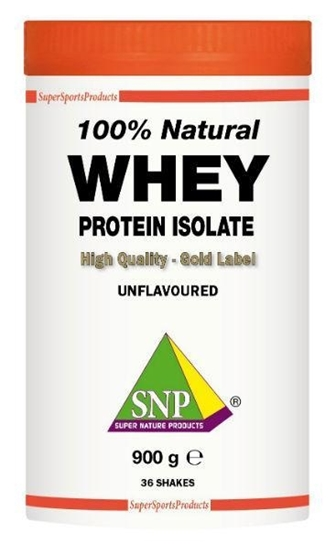 SNP Whey proteine isolate 100% natural afbeelding