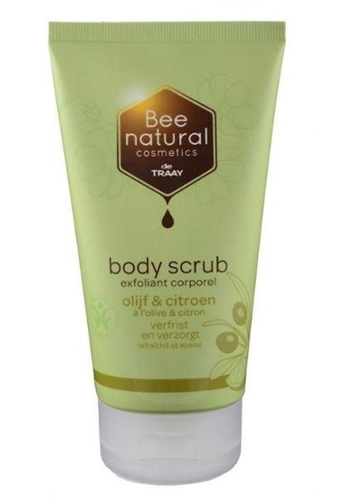 Traay Bee Honest Body scrub olijf & citroen afbeelding