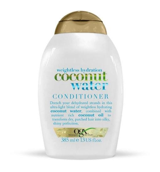 OGX Weightless hydration coconut water conditioner afbeelding