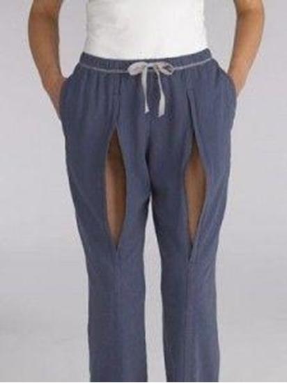 Ronwear Classic broek blauw vrouw afbeelding
