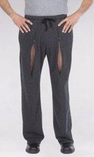 Ronwear Classic broek grijs man afbeelding
