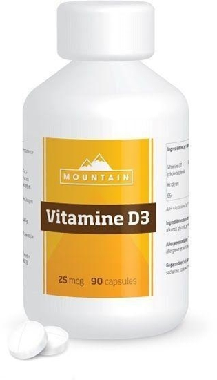 Mountain Vitamine D3 25 mcg afbeelding