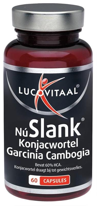 Lucovitaal NuSlank Konjacwortel Garcinia Cambogia afbeelding