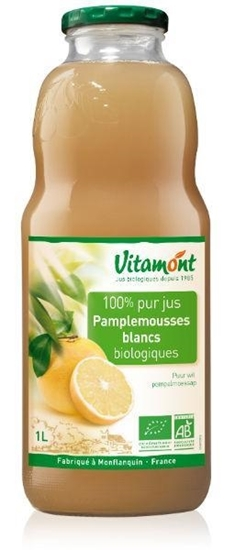 Vitamont Witte grapefruitsap puur bio afbeelding