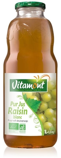 Vitamont Witte druivensap puur bio afbeelding