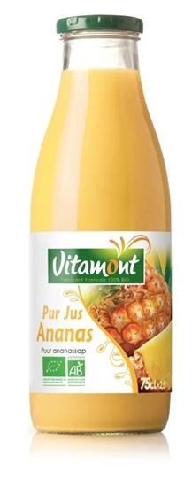 Vitamont Ananassap puur bio afbeelding