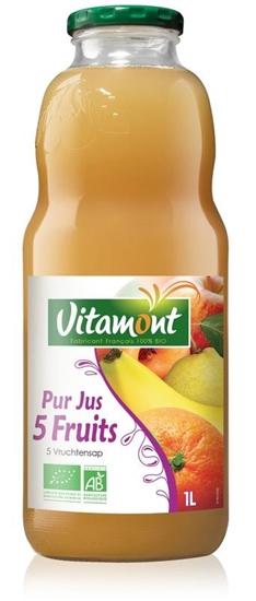 Vitamont Tropische cocktail 5 soorten fruit bio afbeelding