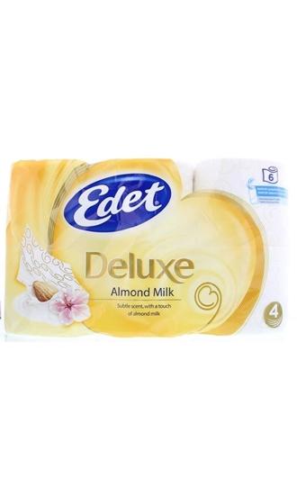 Edet Toiletpapier 4 laags almond milk afbeelding