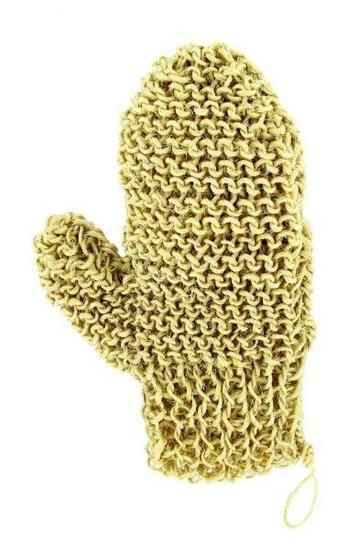 Forsters Massage handschoen met duim aloe sisal afbeelding
