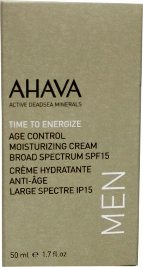 AHAVA Men age control moisterizer SPF 15 afbeelding