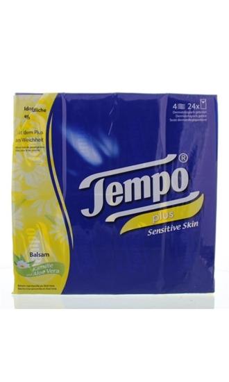 Tempo Plus sensitive skin kamille/aloe afbeelding