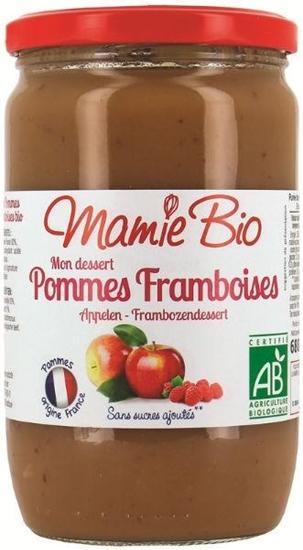 Mamie Bio Appelmoes frambozen afbeelding