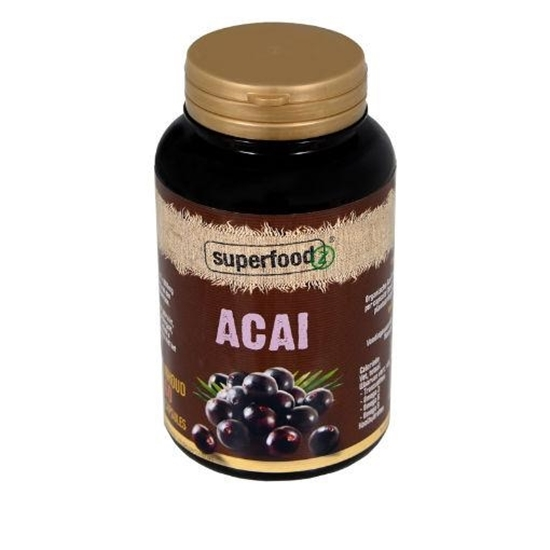 Superfoodz Acai berry extract 500 mg afbeelding