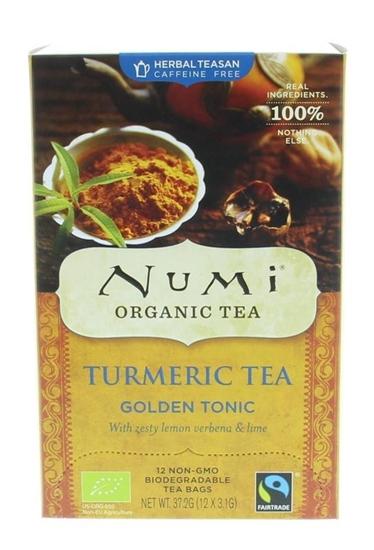 Numi Turmeric tea golden tonic afbeelding