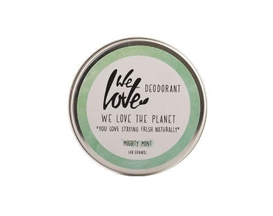 We Love The planet 100% natural deodorant mighty mint afbeelding