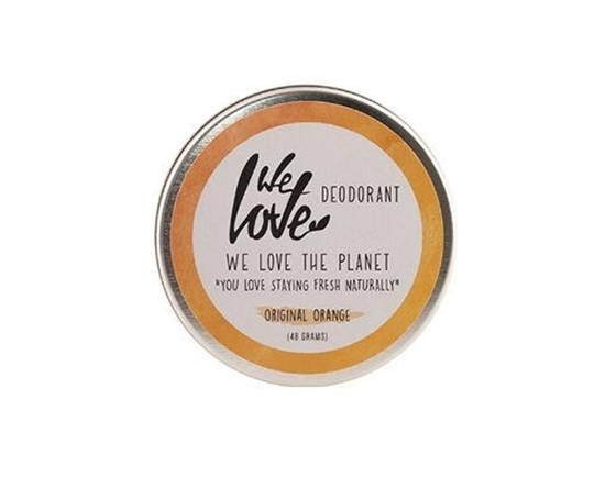 We Love The planet 100% natural deodorant original orange afbeelding