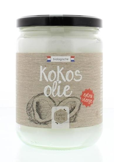 Label Of Oil Kokosolie extra vierge bio afbeelding