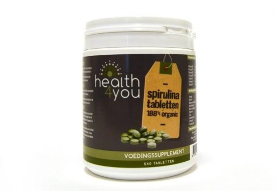 Health4you Spirulina 500 mg afbeelding