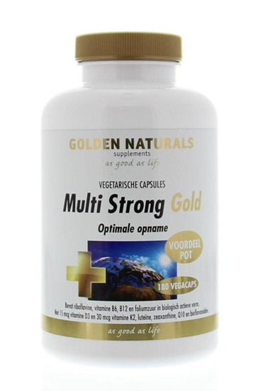 Golden Naturals Multi strong gold afbeelding