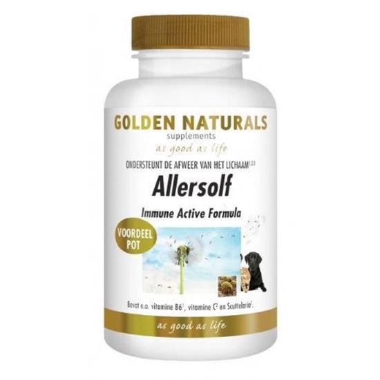 Golden Naturals Allersolf immune active formula afbeelding