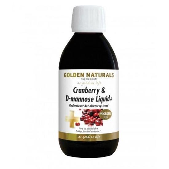 Golden Naturals Cranberry D mannose liquid afbeelding