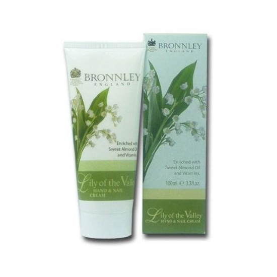 Bronnley Hand & nail creme lily of the valley afbeelding