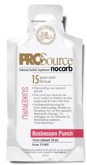 Prosource Nocarb bosbessen afbeelding