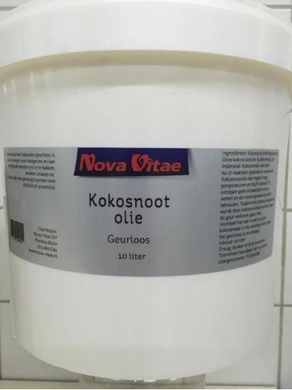 Nova Vitae Kokosnoot olie geurloos afbeelding