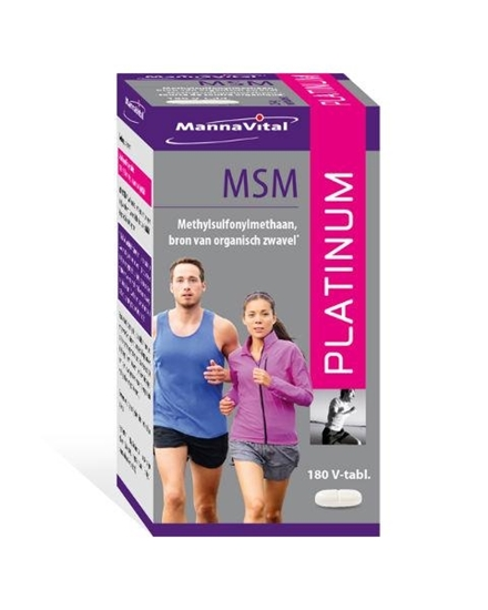 Mannavital MSM Platinum afbeelding