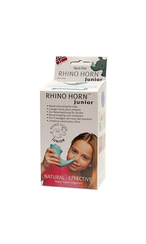 Rhino Horn Neusspoeler junior 4 tot 12 jaar afbeelding