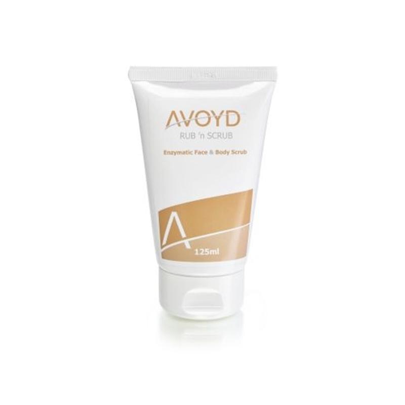 Avoyd Rub n scrub face & body scrub afbeelding