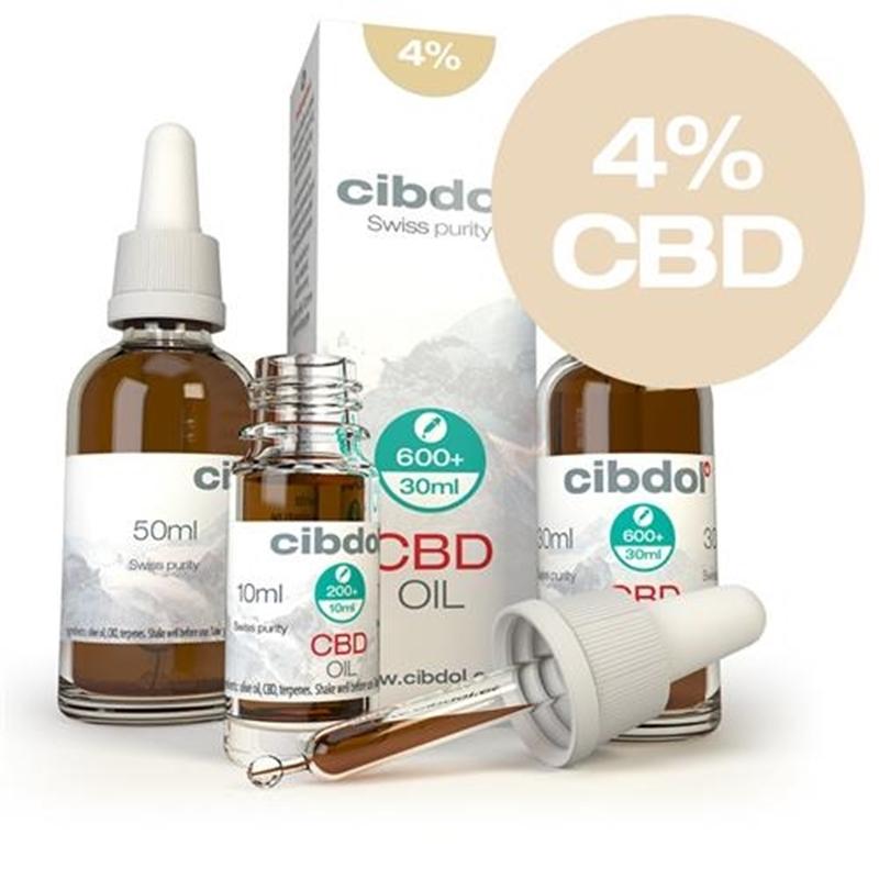 Cibdol CBD Olie 4% (Cibdol CBD Oil Normal) afbeelding
