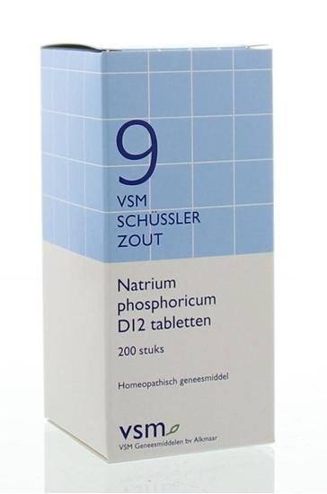 VSM Natrium phosphoricum D12 Schussler 9 afbeelding