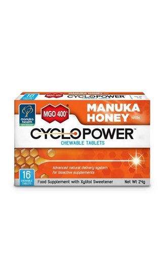 Manuka Health Cyclopower met Manuka honing MGO 400+ afbeelding